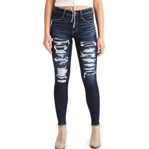 American Eagle High Rise Jegging size 2